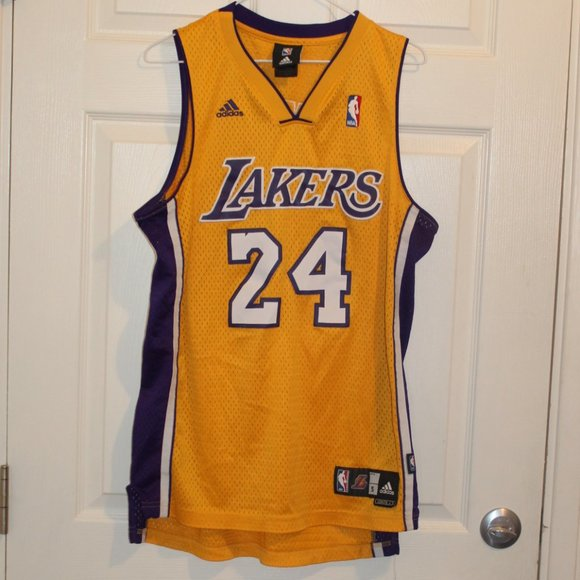 adidas Shirts   Nba Kobe Bryant Adidas Lakers Jersey 24 Small ...
